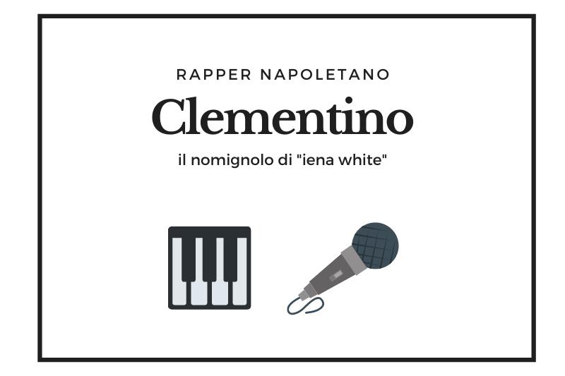 【クレメンティーノ】フリースタイルを得意とする生粋のナポリ出身ラッパー -Clementino-