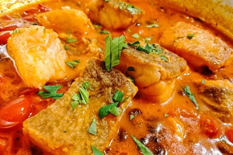 ナポリ風バッカラのトマト煮込み -Baccalà alla napoletana-