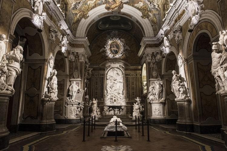 【サンセヴェーロ礼拝堂】世界中を魅了してやまないクリストヴェラートと謎の人体模型 -Museo Cappella Sansevero-