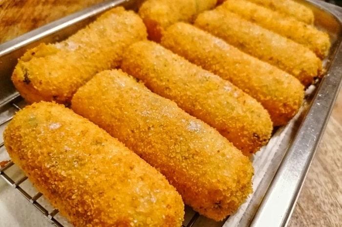ナポリ風コロッケのレシピ ナポレターノに大人気の定番フリット -Crocchè napoletano-