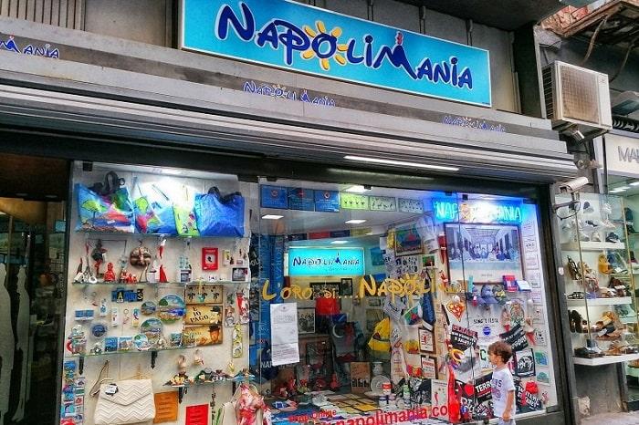 【NAPOLI MANIA】ナポリにちなんだオリジナルなグッズを扱うショップ!